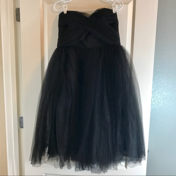 581a44c26 Donna Morgan Dresses | Kenna Mesh Tulle Strapless Dress | Poshmark